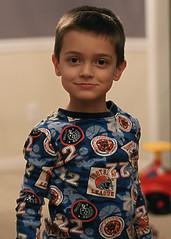 Luke in his Pajamas