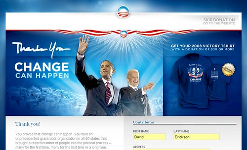 barackobama.com - Splash Page - 1/1/09