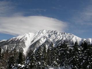《新穂高》西穂高岳