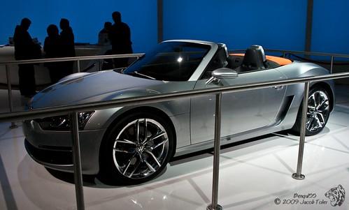 VW Concept-R,car, sport car