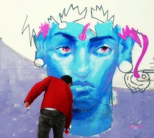 Graffiti artist 1