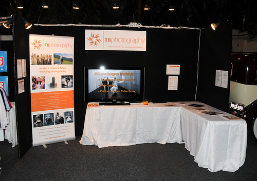 I exhibited at the Canberra Wedding Expo on the 1st of February