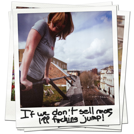 Tshirt Series - Buy! ... Or I'll jump!!