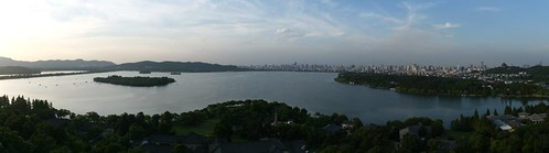 West Lake panorama