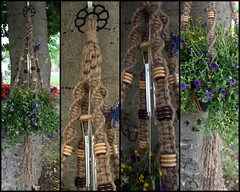 Perfection (Macramaking- Natural Macrame Plant Hangers) Tags: wood plants brown mountains tree kitchen beauty hippies vintage butterfly happy idea beads spring pretty basket natural herbs handmade unique decorative character cottage chinese creative fluffy curls northcarolina funky deck gift porch shelby hanging crown balance flowing chic birthdaygift weavers groovy weddinggift knots sunroom swirly beachhouse detailed keepsake christmasgift hangingbasket shabby twisting artscrafts jute containergardening macram veryspecial planthanger alternating mothersdaygifts macramakin macramaking 5plyjute chinesecrownknot