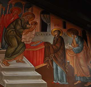 Presentation of Christ in the Temple Icon
