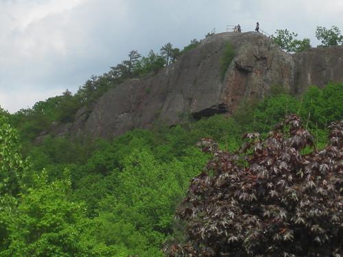 2011 05 25 climbing at Pinnacle Rock, Plainville CT 001
