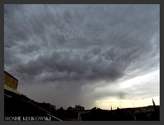 - jerusalem (moshek70) Tags: sky weather clouds israel jerusalem   cumulonimbus