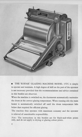 Kodak Glazing Machine4