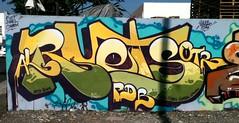RUETS (UTap0ut) Tags: california ca street art cali painting graffiti la los al mural paint artist angeles tag charm size otr tagging arco regis pdb fuct kosmo spurm stae ewsoe honke hael gushe