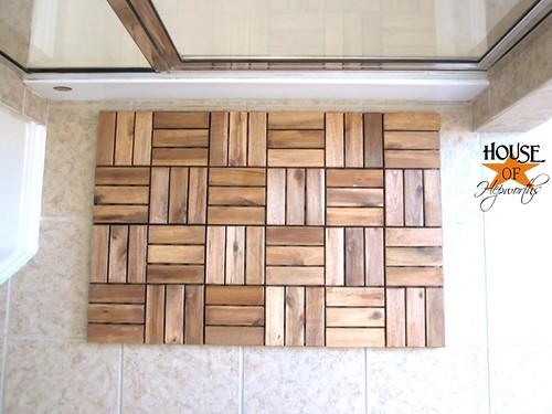 Create A Spa Bath Mat Using Ikea Outdoor Decking House