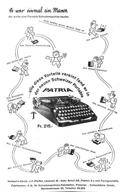 Patria advertisement