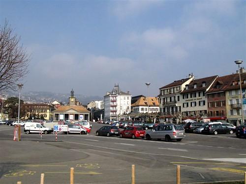 Vevey's Grande Place
