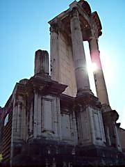 Tempio di Vesta (<<<TheOne>>>) Tags: rome roma ancient empire antico romans fororomano vesta impero