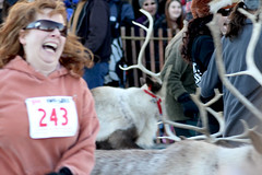 Running with the Reindeer: #243