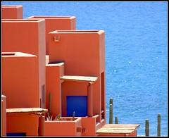 blue (mudpig) Tags: door blue geotagged mexico yahoo google msn bungalow westinhotel seaofcortez loscabos livecom mudpig 5photosaday stevekelley