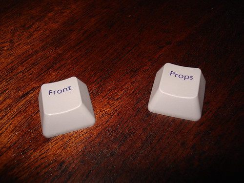 Front and Props keys