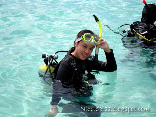 me diving in sibuan