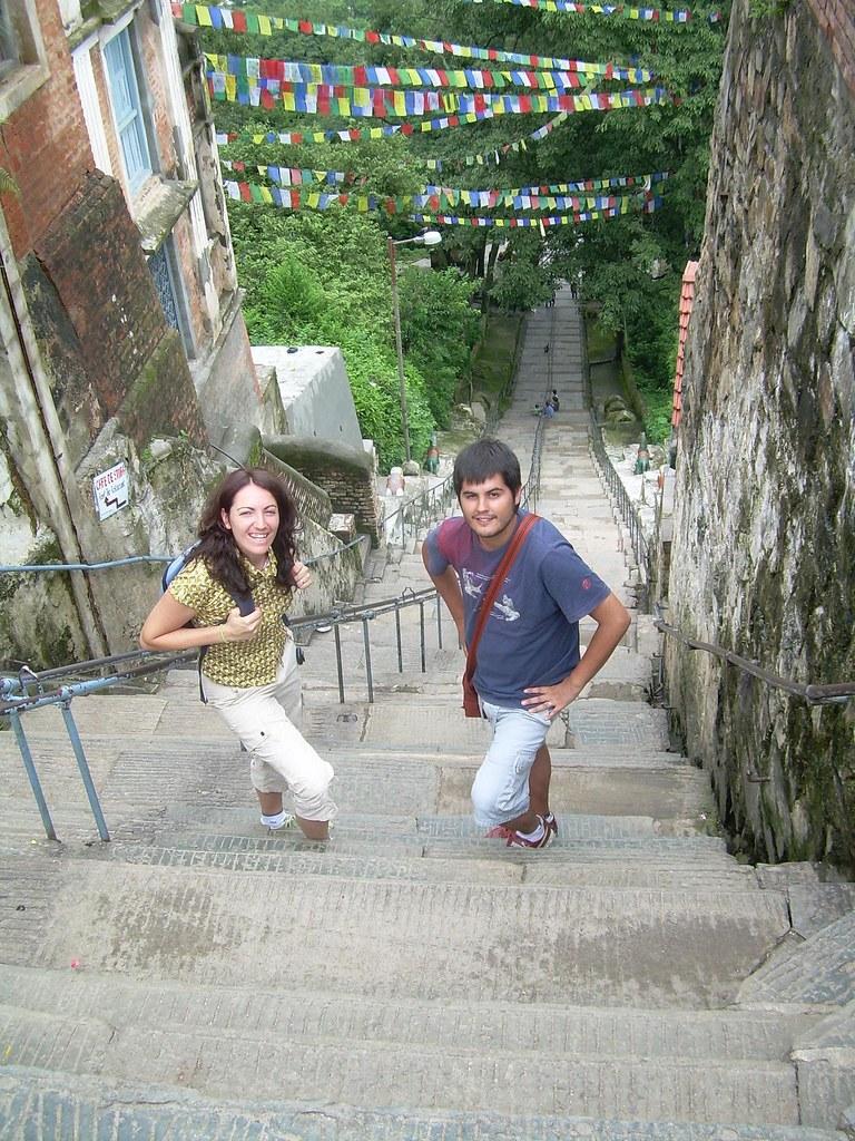 Las 365 escaleras de Swayambhunath