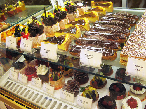 Pastry Display at Lenotre 2