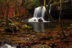 Rainy Day at Laurel Falls (the waterfallhunter) Tags: falls desotostatepark laurel lookoutmountain laurelfalls fortpaynealabama aplusphoto