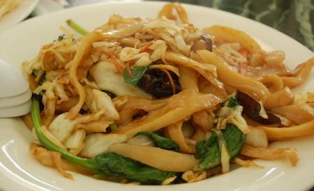 Kam Hong Garden: hand shaven noodles