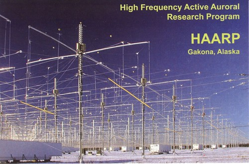 HAARP QSL Card. Well I got a QSL from the 40 meter moonbounce experiment ...