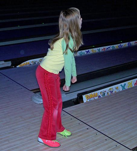 Kaitlyn bowling