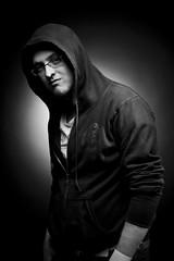 D.Ronnie (grahamcase) Tags: blackandwhite man male photoshoot canon20d davidronnie