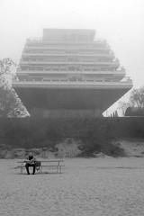 (santita) Tags: beach fog architecture sand balticsea latvia resort soviet mysterious dreamlike timeless baltics jurmala 60ies