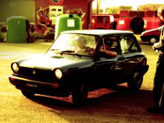 Ale e il suo 112 (*Tom [luckytom] ) Tags: auto old tom interestingness automobile blu ale mostinteresting macchina pv 122 autobianchi alessandro ctm a112 torrazzacoste favcol luckytom