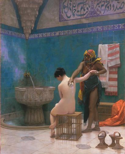 The Bath by Jean Léone Gérôme