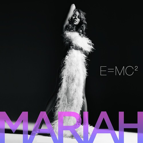 Mariah Carey featured on E=MC2 music album cover