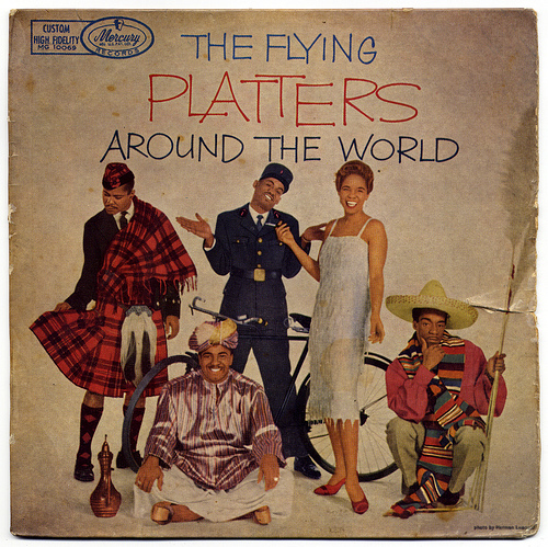 16- The Platters-España-1959-frontal