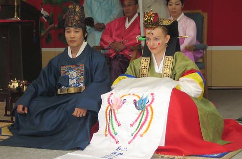koreai hagyományos esküvő – képgaléria