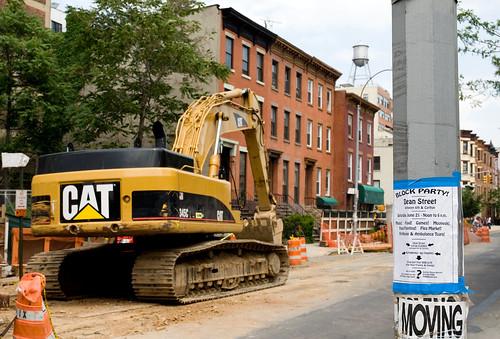 Dean Street Construction