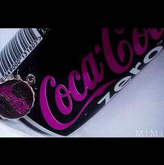 Coca-Cola (M  M ) Tags: pink red black cola drink mark tm coca zero