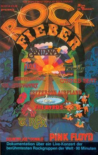 ROCK FIEBER : DVD van het legendarische festival in Kralingen 1970