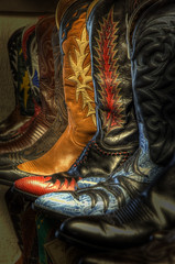 Colourful Cowboy Boots