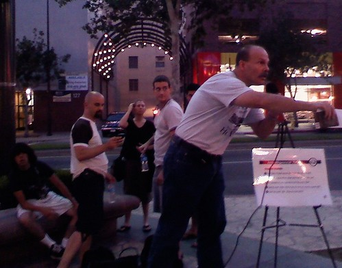 "Tony ""The Lawman"" Open Air Preaching - Glendale, California"