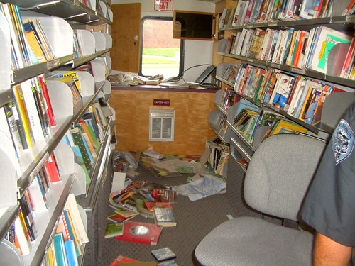 Destruction of the Bookmobile