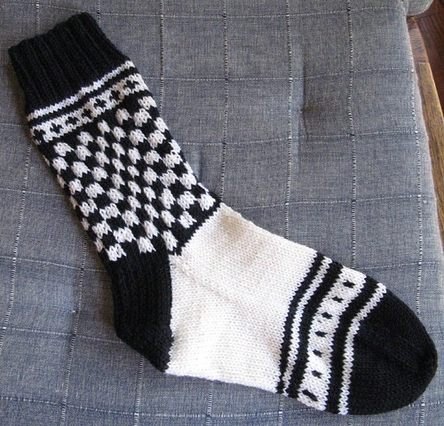 Tile Sock Sport Weight