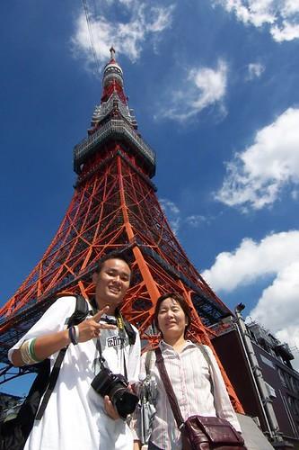 東京鐵塔 老媽 與 我