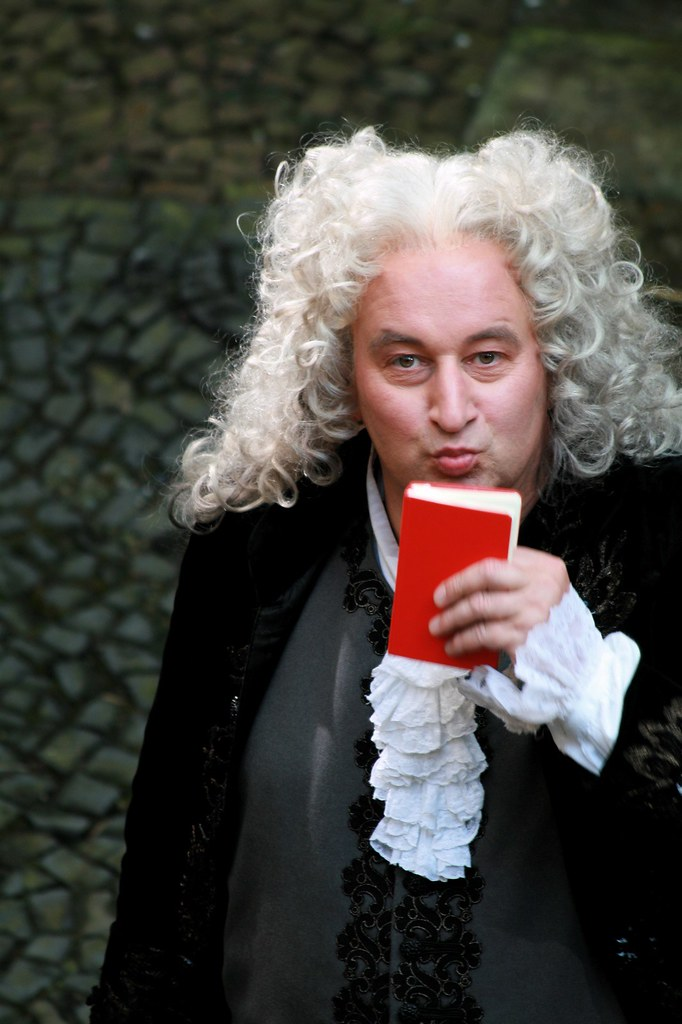Handel blows me a kiss