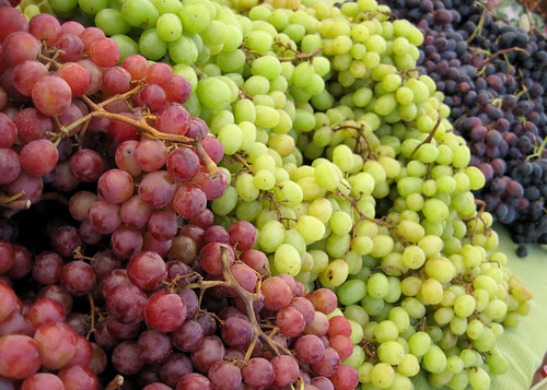 love green and purple grapes