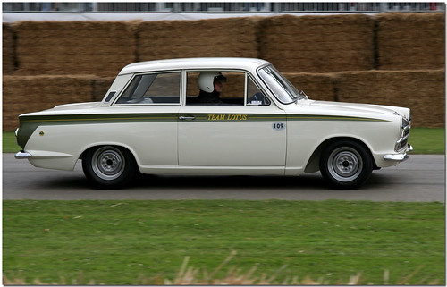 Ford Lotus Cortina BTCC Goodwood Festival of Speed 2008 (by antsphoto)