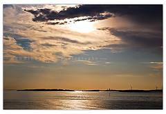 (H J A) Tags: wedding sunset sea clouds göteborg sweden gothenburg sverige westcoast havet sommar solnedgång moln ö västkusten långedrag öar värmebölja