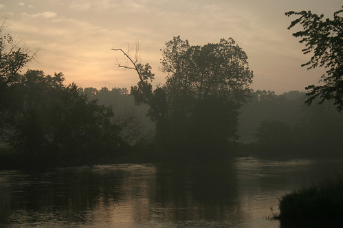 Sunrise at the river 1