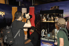 A Fan Takes a Pic of GW Paper Craft (ArenaNet) Tags: pax guildwars pax2007