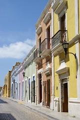Campeche Downtown (chblet) Tags: mxico colores campeche 100 chablet colorsinourworld